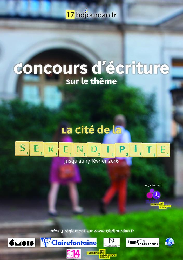 17 boulevard jourdan - affiche concours - 3ème édition - 3
